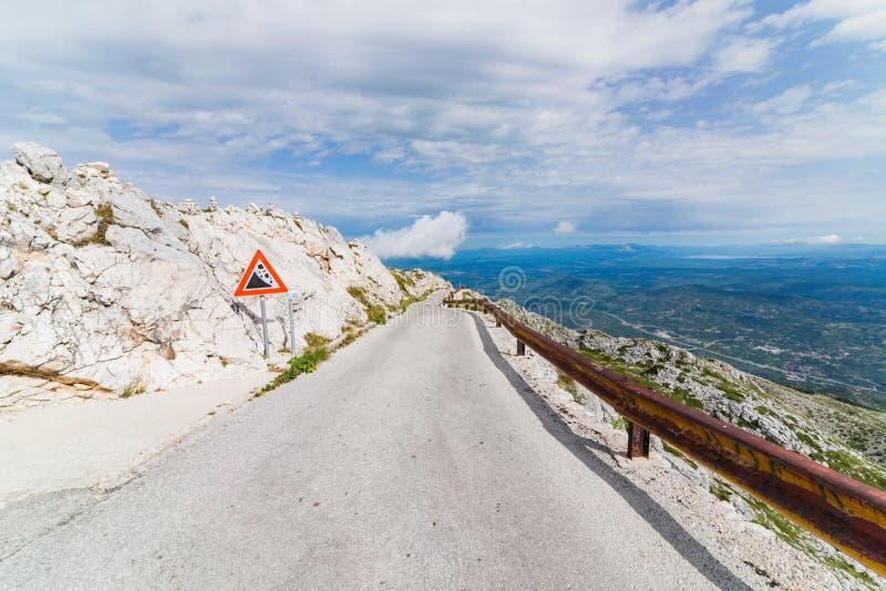 Дорога горы гудронированного шоссе стоковые фото