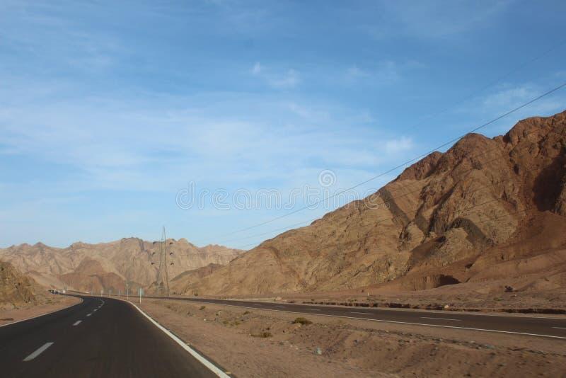 Дорога горы на скорости высоты стоковое изображение rf