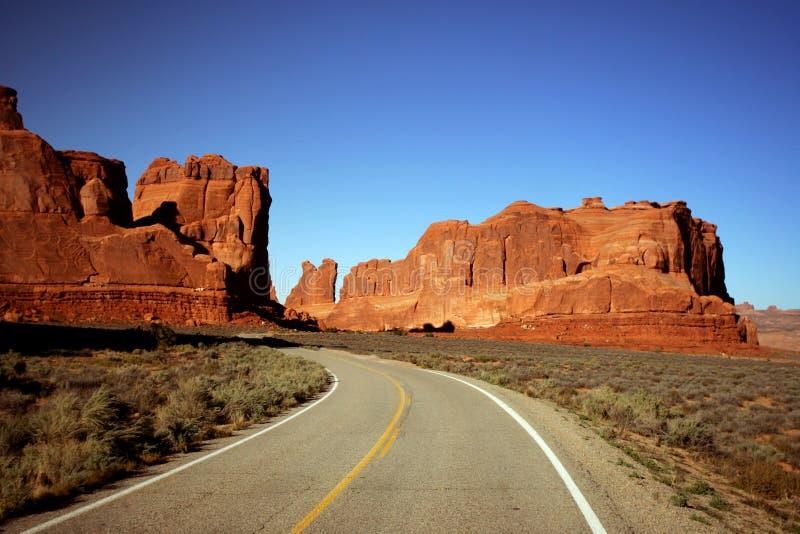 дорога горы стоковая фотография rf