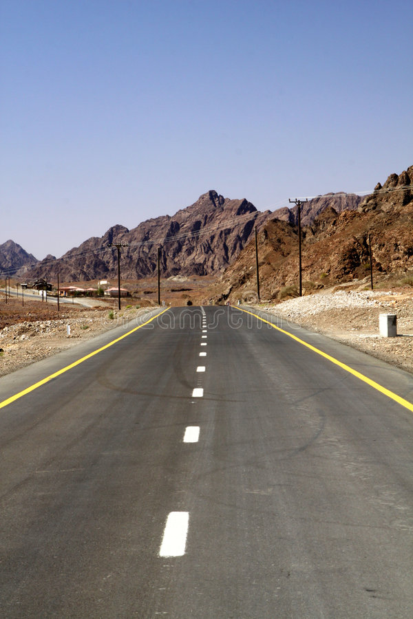 дорога горы стоковое изображение rf