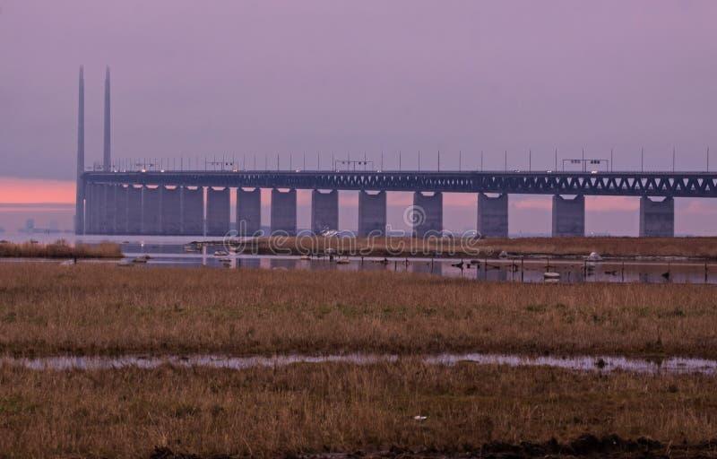 дорога Дании к стоковые изображения rf