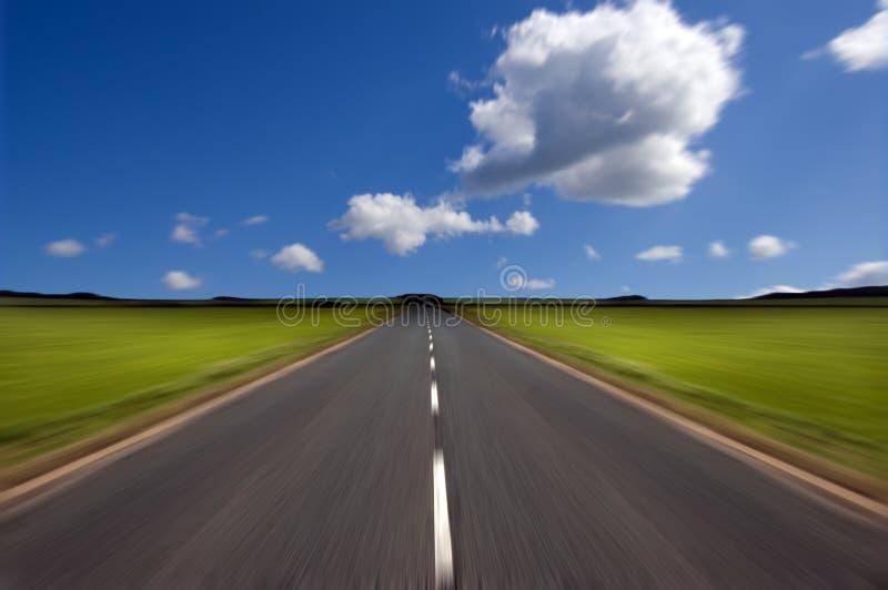 дорога движения нерезкости стоковая фотография