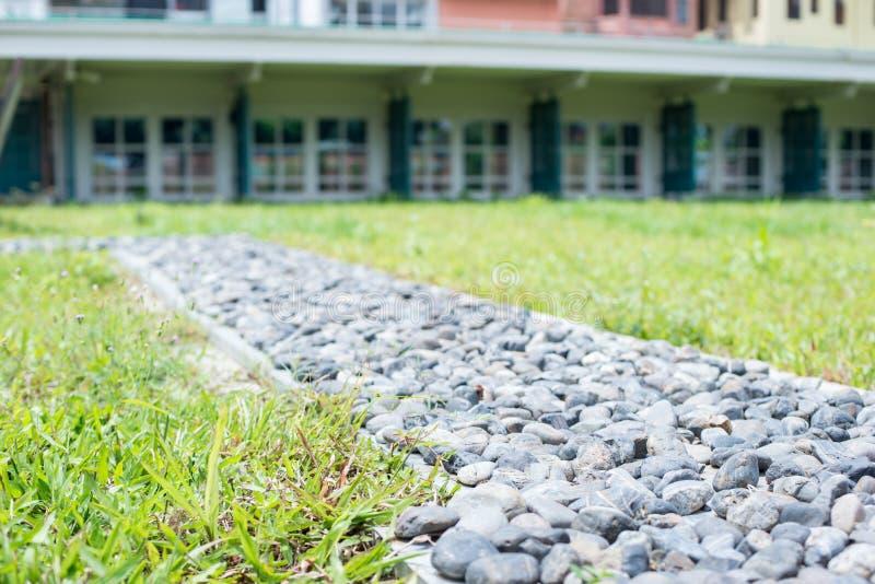 Дорога камешка сада стоковое фото rf