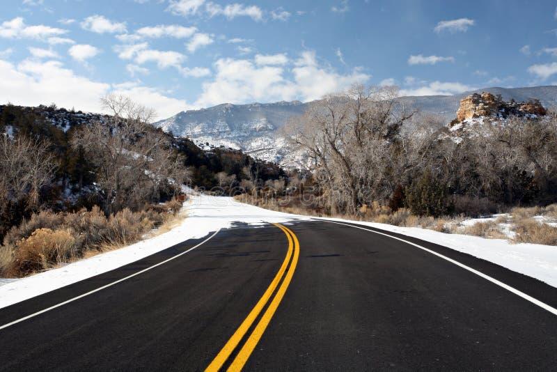 дорога конца стоковое фото