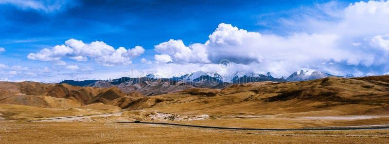 Дорога к Гималаям стоковая фотография