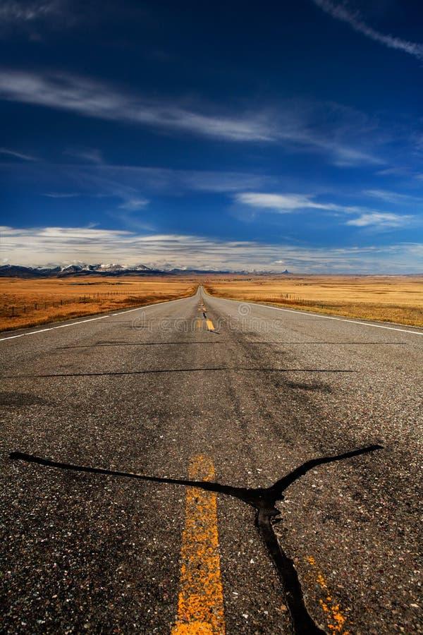 Дорога к леднику Бесплатное Стоковое Фото