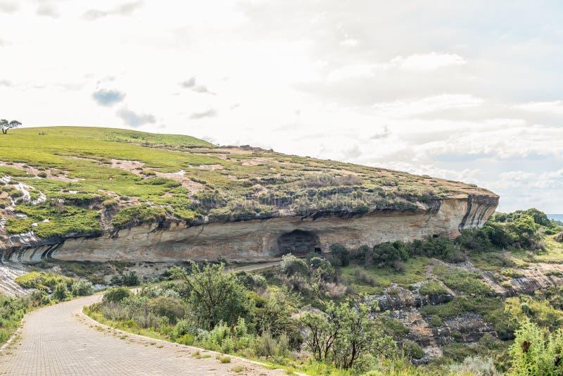 Дорога к началу пешеходного тропы Сентинеля стоковое фото