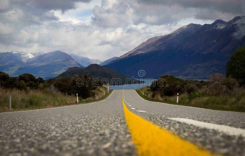 Дорога к нигде стоковая фотография rf