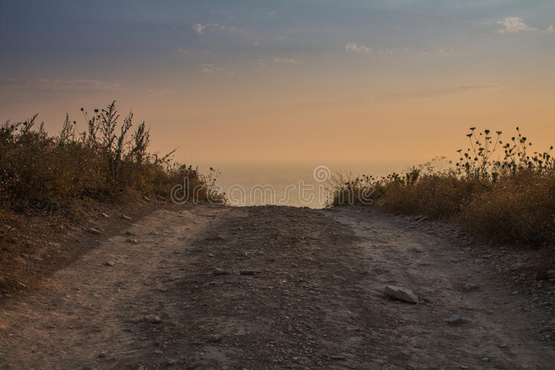 Дорога к раю стоковое изображение rf