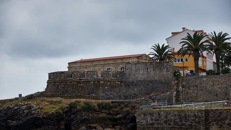 Дорога к Сантьяго эпилог между Сантьяго и Finisterre Ла Coruna, Испания стоковое изображение
