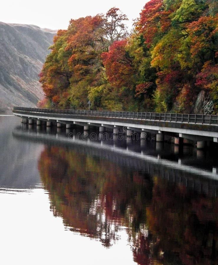 Дорога к Oban Шотландии стоковые изображения