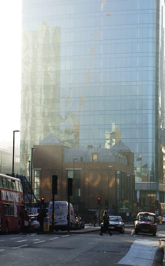 Дорога Лондон Whitechapel стоковое фото