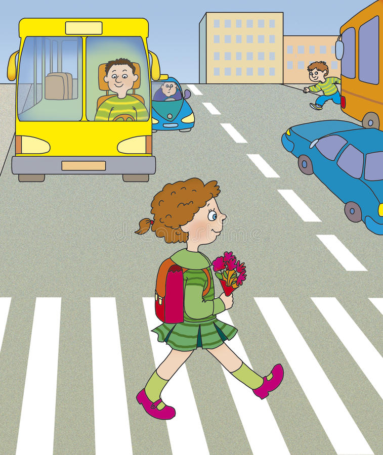 дорога опасности бесплатная иллюстрация