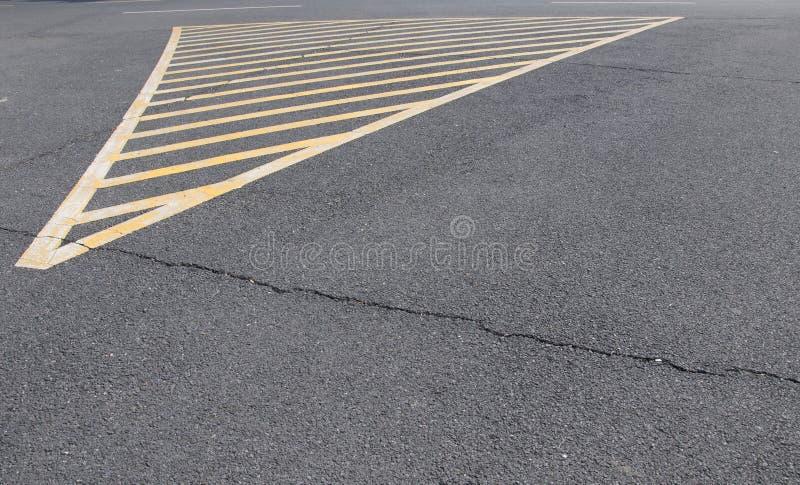 Дорога отсутствие стояночной площадки стоковые изображения rf