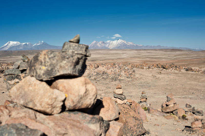 Дорога от Arequipa к Chivay стоковые изображения