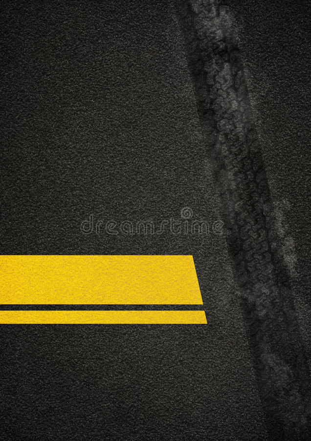 дорога плаката иллюстрация вектора