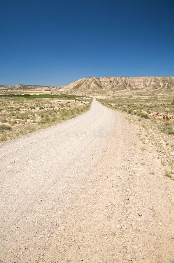 Дорога пустыни стоковые фотографии rf