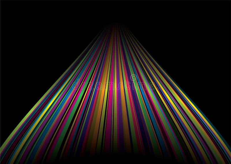 дорога радуги бесплатная иллюстрация