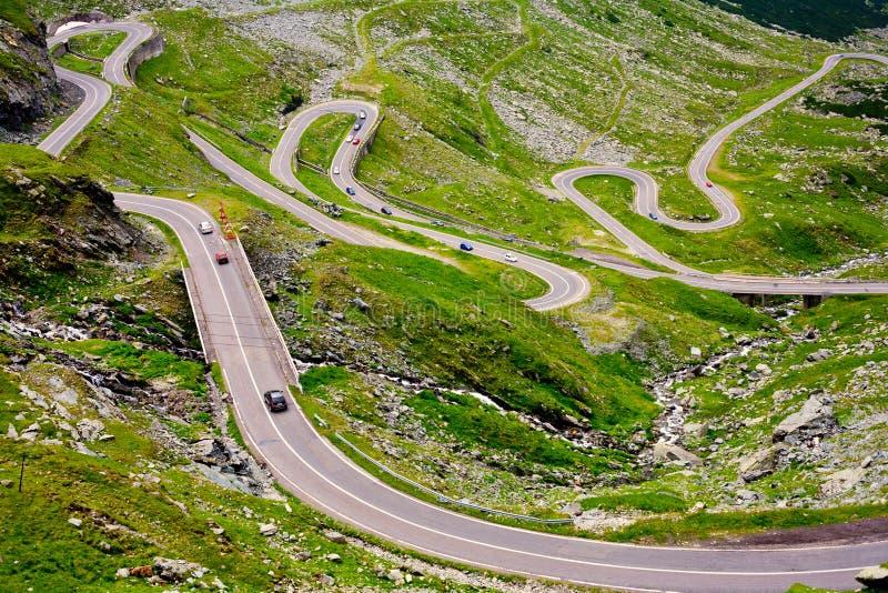 дорога Румыния transfagarasan стоковая фотография