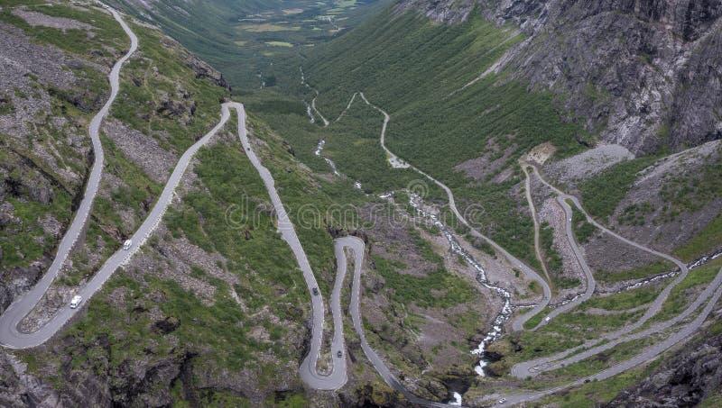 Дорога троллей стоковое изображение
