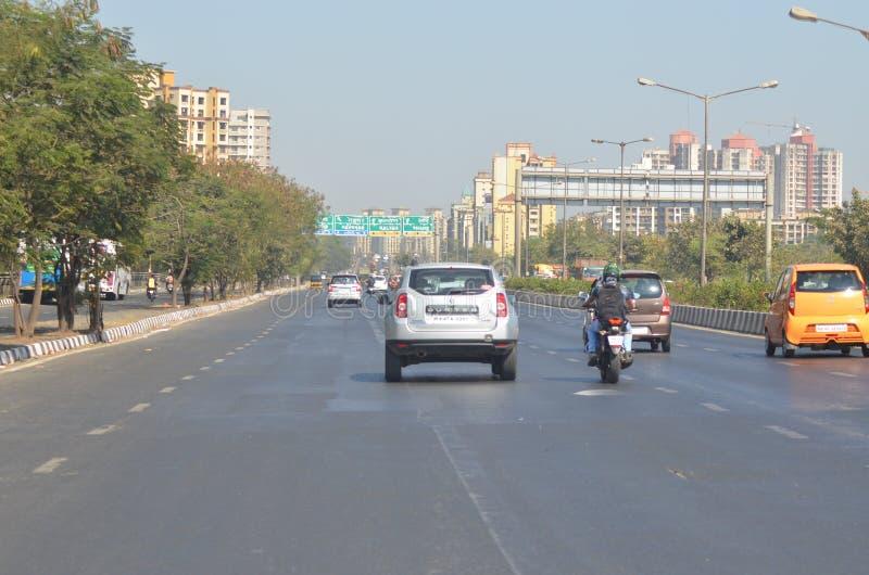 Дорога улицы стоковое изображение
