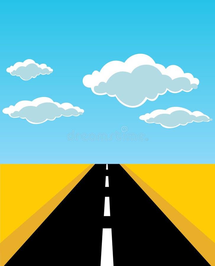 дорога бесплатная иллюстрация