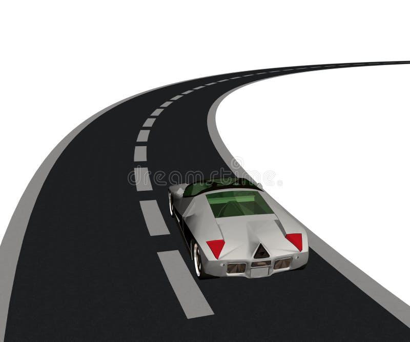 дорога иллюстрация штока