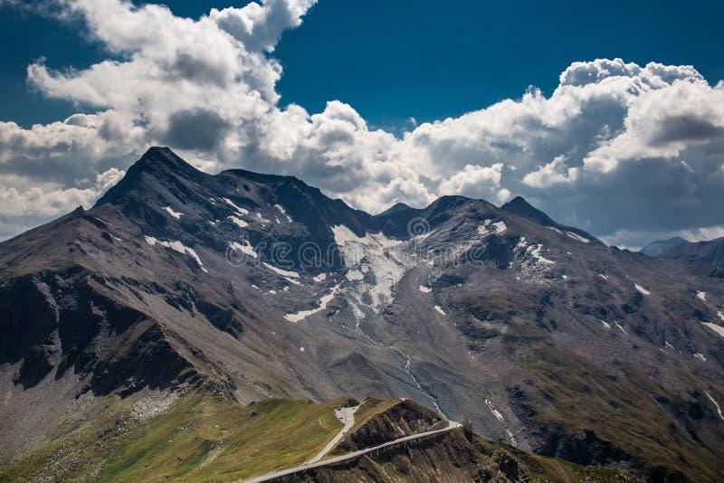 Дорога Grossglockner высокая высокогорная - Австрия стоковое фото