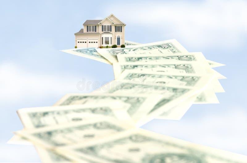 дорога homeownership к стоковые изображения rf