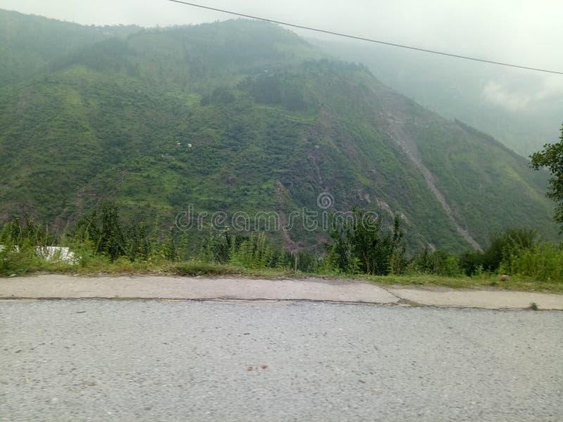 Дорога Naran стоковые изображения rf