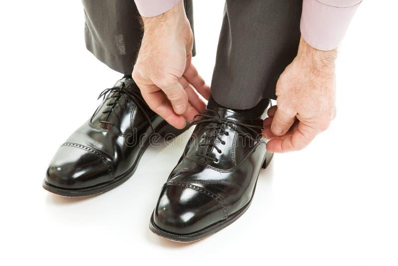 дорогие ботинки mens стоковые фото