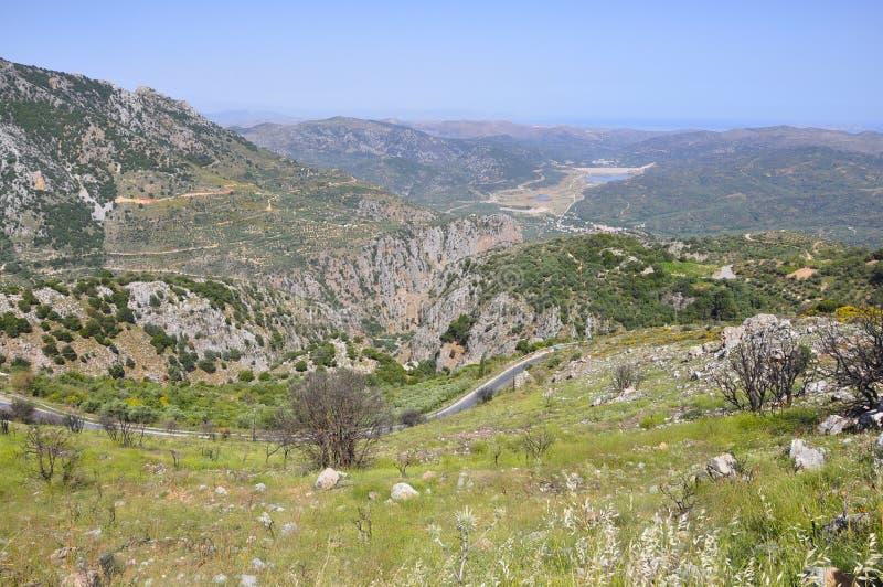 Дороги горы стоковое фото