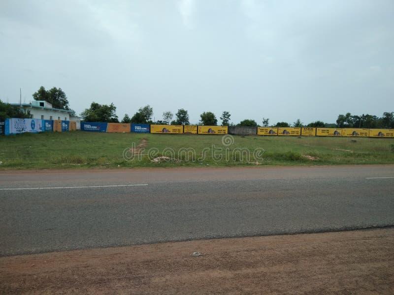 Дороги Odisha слишком хороши для перемещения везде стоковая фотография rf