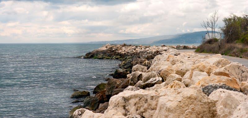 Дорожка к Albena стоковые изображения