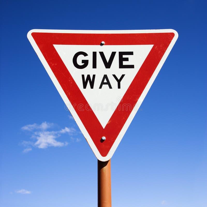 дорожный знак Австралии стоковое фото rf