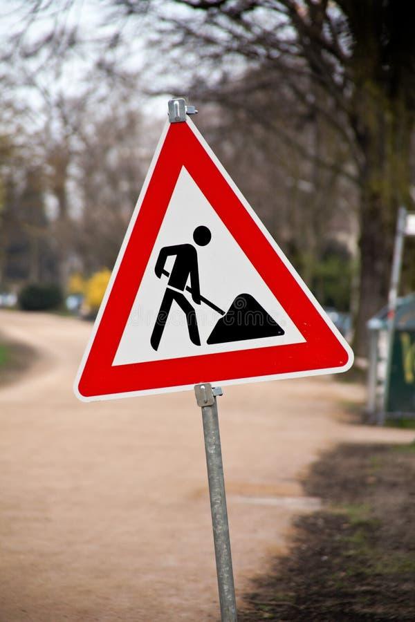 дорожный знак конструкции стоковое фото rf