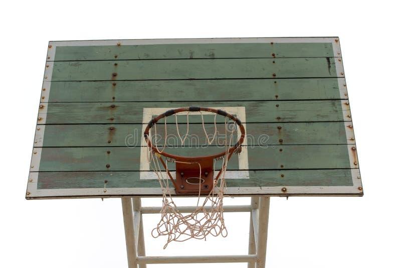 Доска баскетбола деревянная стоковые фотографии rf
