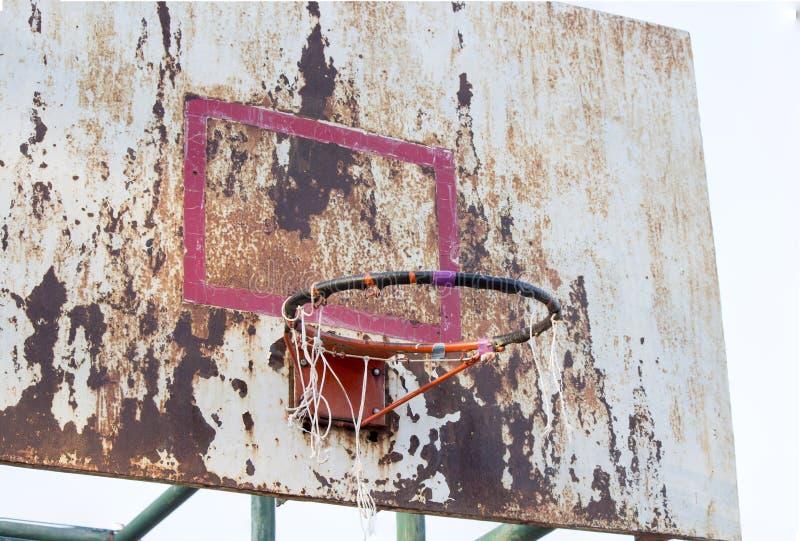 Доска баскетбола железная стоковые изображения rf