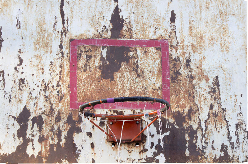 Доска баскетбола железная стоковые изображения