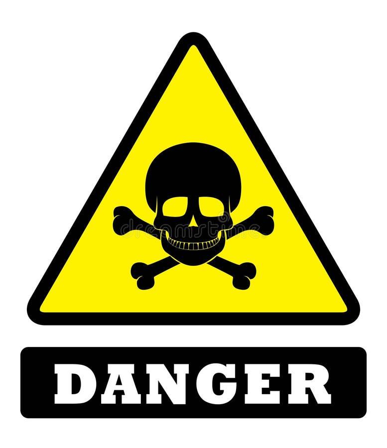 Доска знака опасности бесплатная иллюстрация