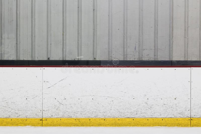 Доска катка хоккея на льде стоковые фото
