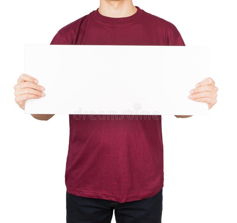 Доска рубашки человека стоковые изображения rf