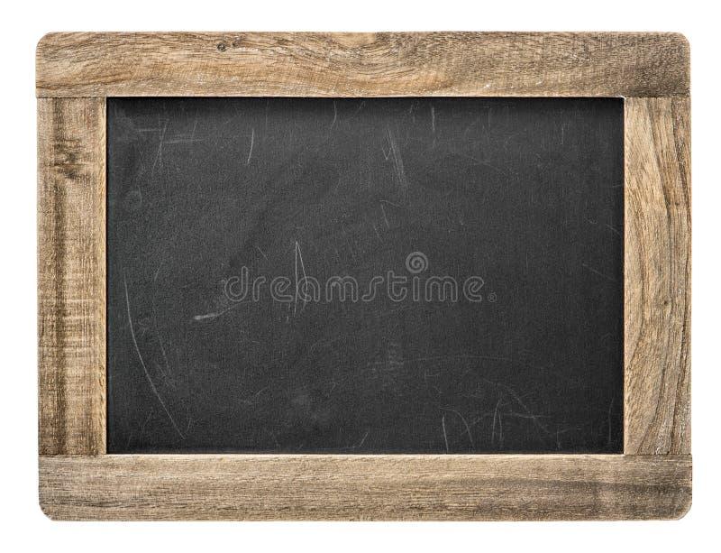 Доска с деревянной рамкой изолированное классн классный стоковые изображения rf