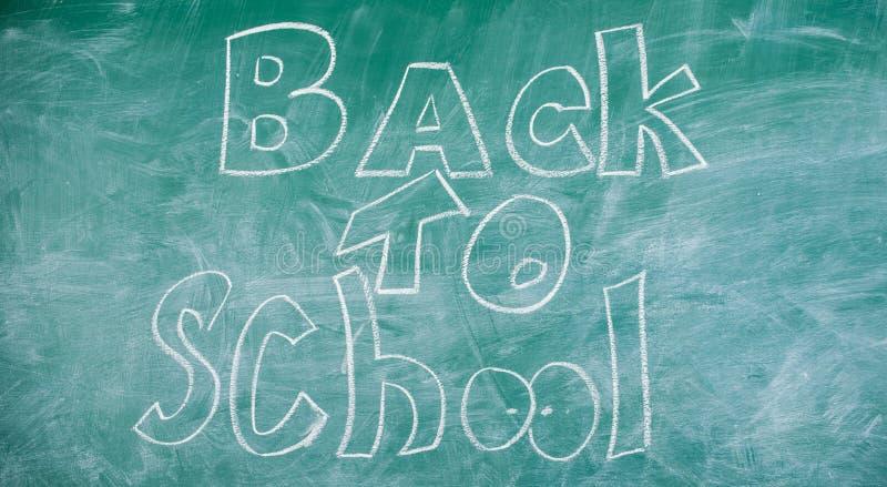 Доска с надписью назад к школе Время в сентябре назад к изучать и получать образование Назад к школе оно стоковые фотографии rf