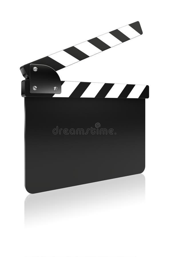 Доска шифера фильма иллюстрация штока