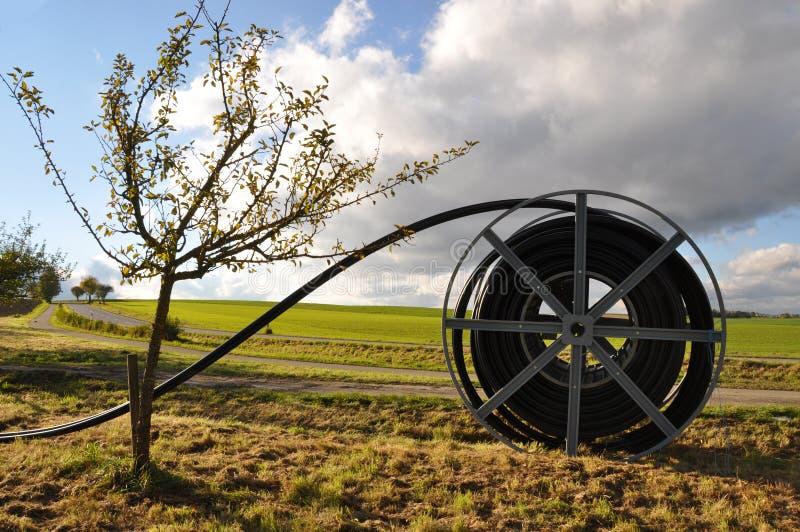 достигните сельского зон широкополосное стоковое изображение rf