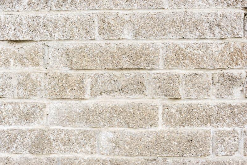 достигшая возраста выдержанная стена блока Старая предпосылка кирпича стоковые фото