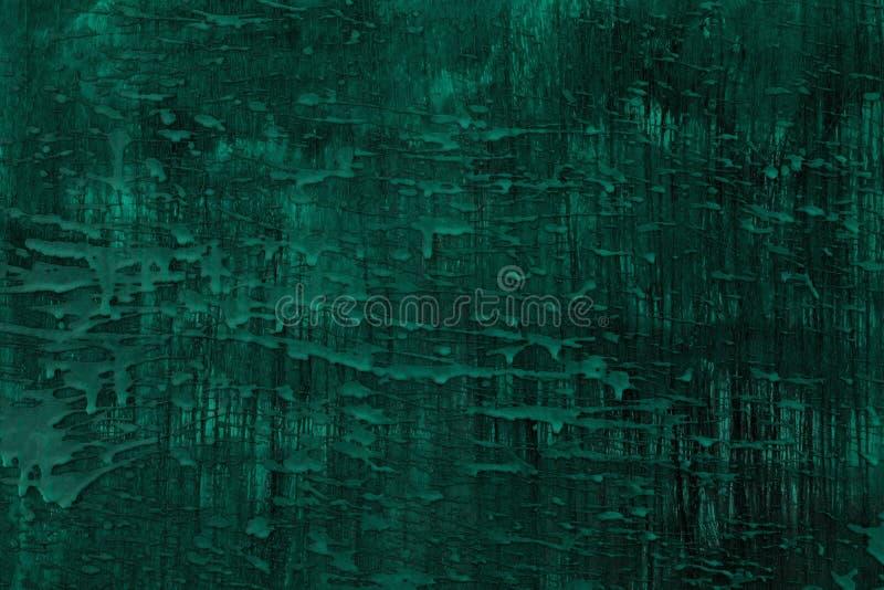 Достигший возраста teal, цвета морской волны поверхность с конкретной текстурой потеков - довольно абстрактной предпосылкой фото иллюстрация вектора
