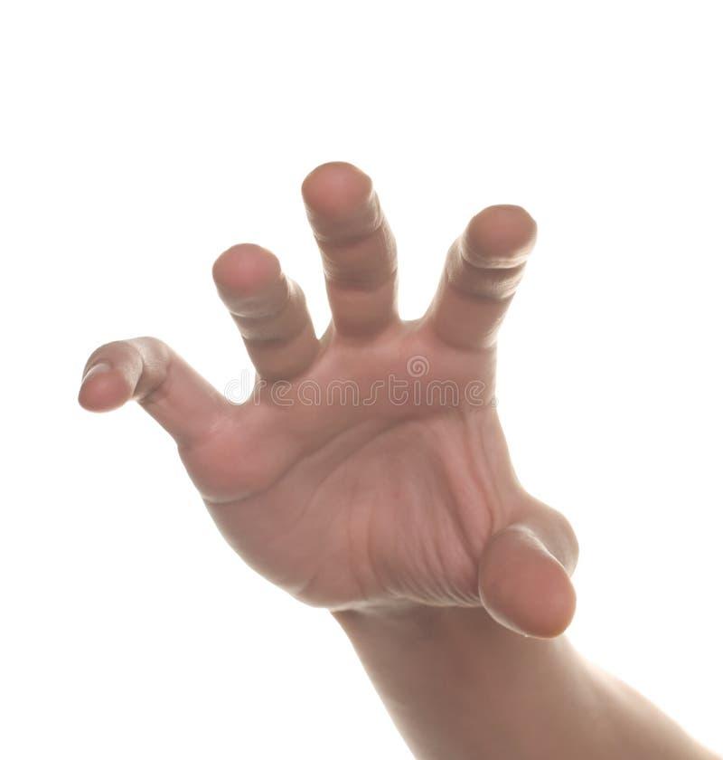 достижение людей руки сформированное что-то наилучшим образом стоковые изображения