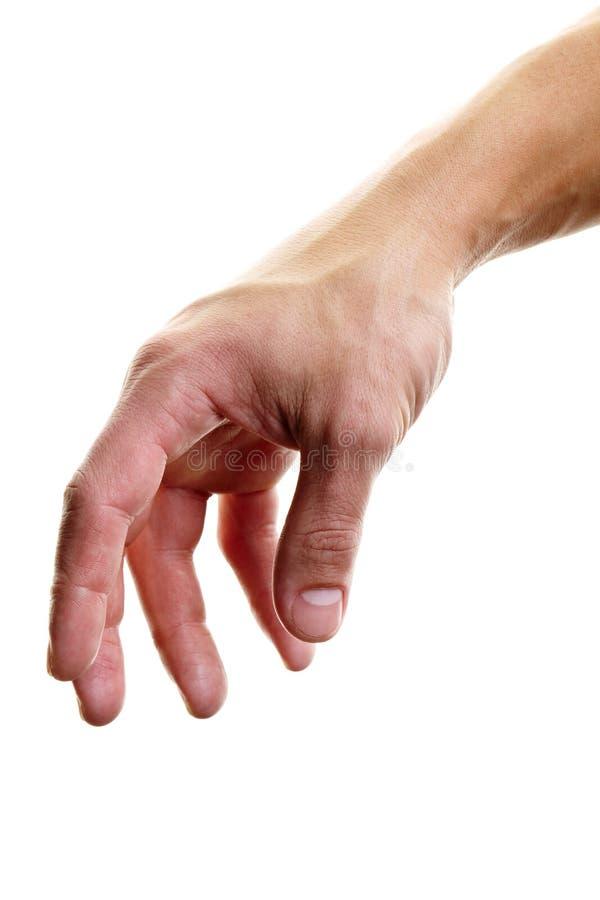 Достижение руки стоковая фотография rf